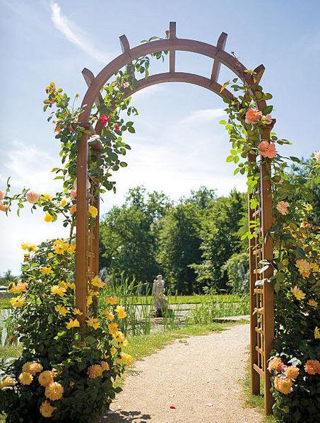 arco-flores-madera